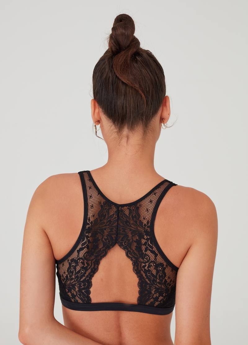 Alicia natural-effect bralette image number null