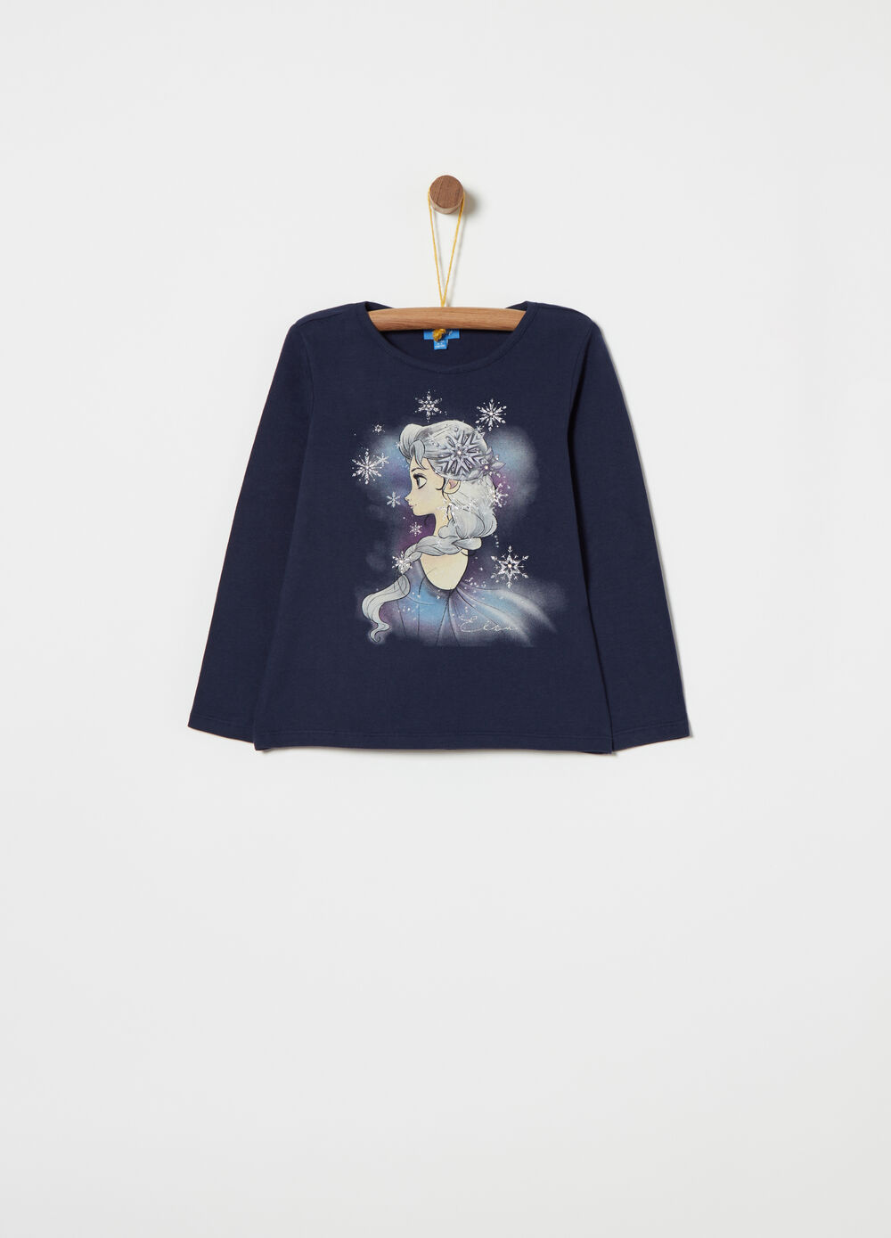 Disney Frozen peach-skin T-shirt