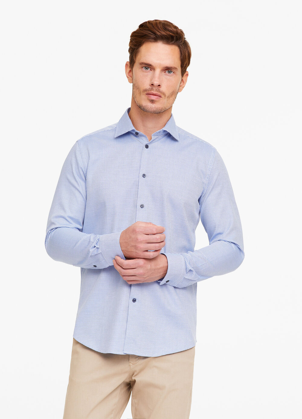 Camicia formale slim fit quadri