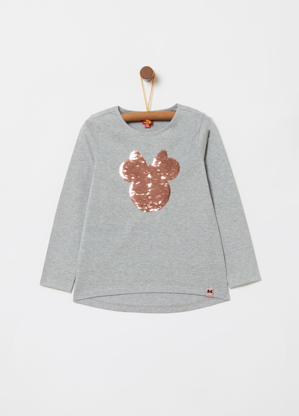 T-shirt mélange ricamo Disney Minnie