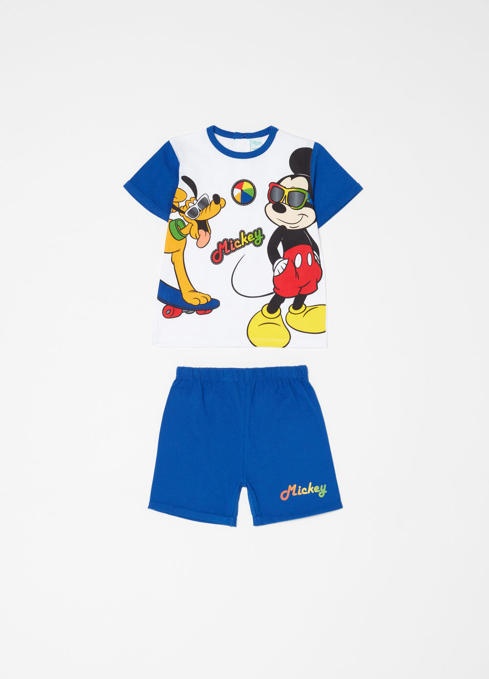 Mickey and Pluto short pyjamas