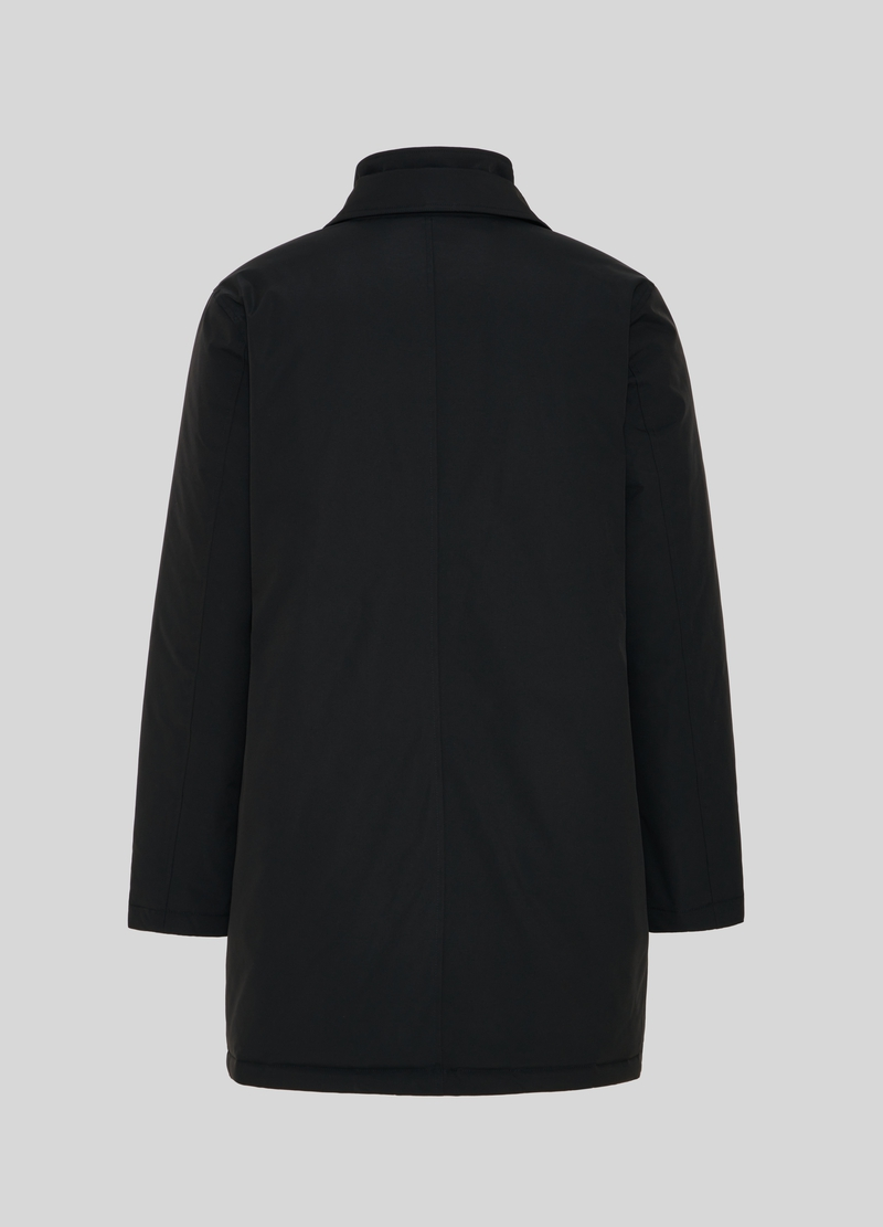 PIOMBO solid colour jacket with pockets image number null