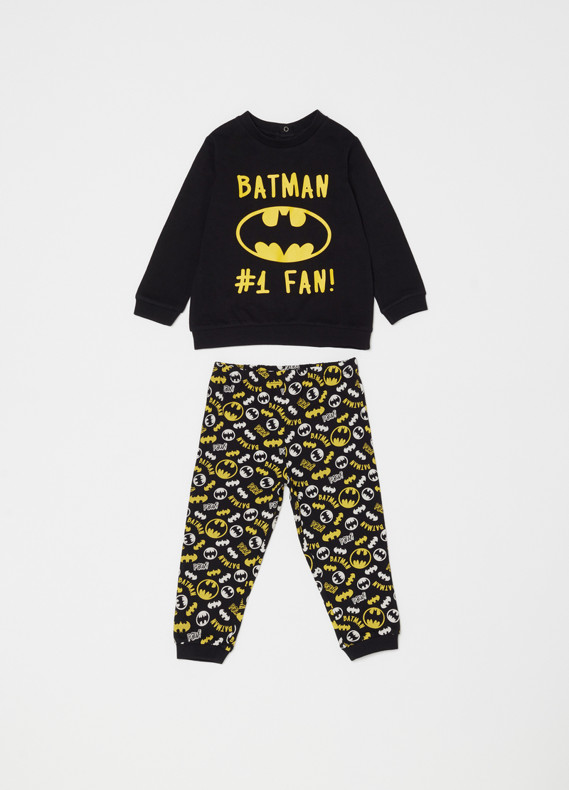 Pyjamas with print and Batman pattern image number null