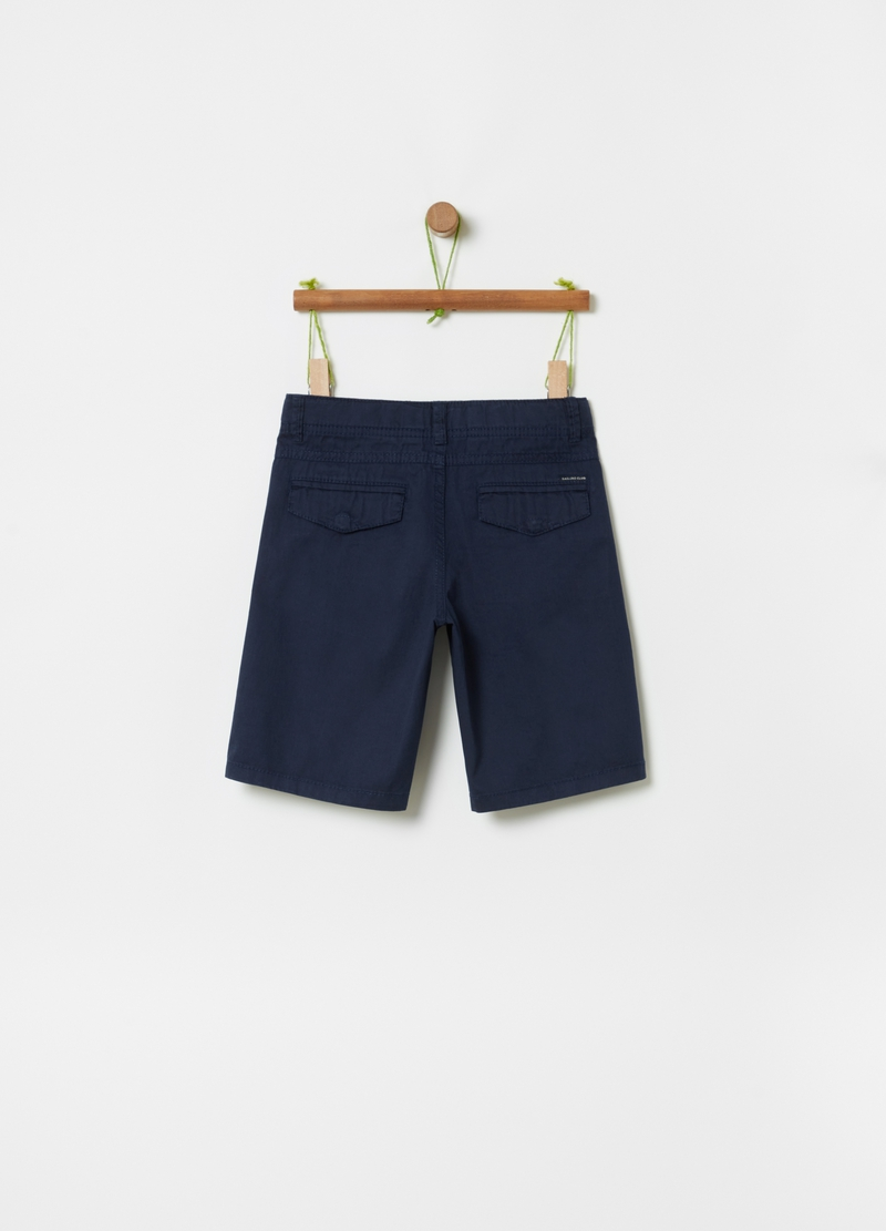 Bermuda chinos in 100% cotton image number null