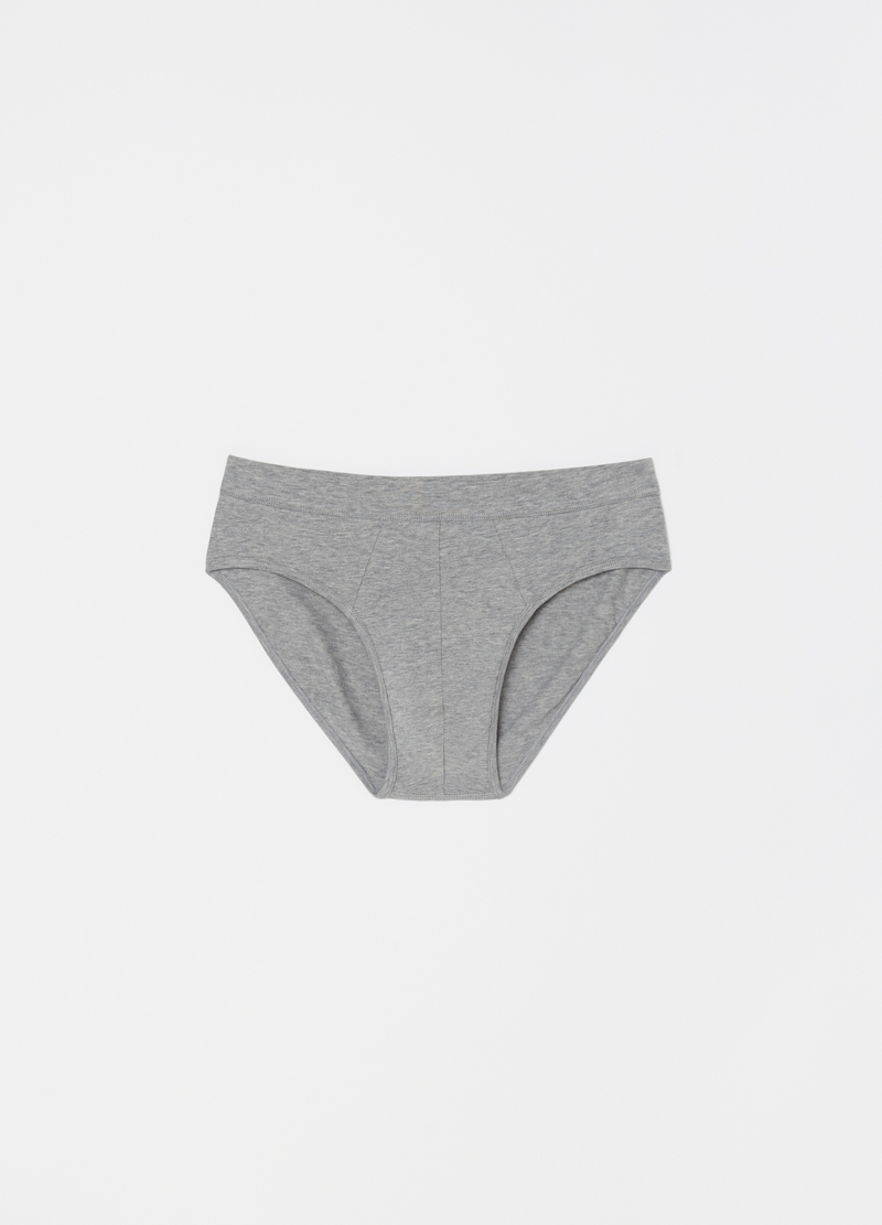Stretch Pima cotton briefs image number null