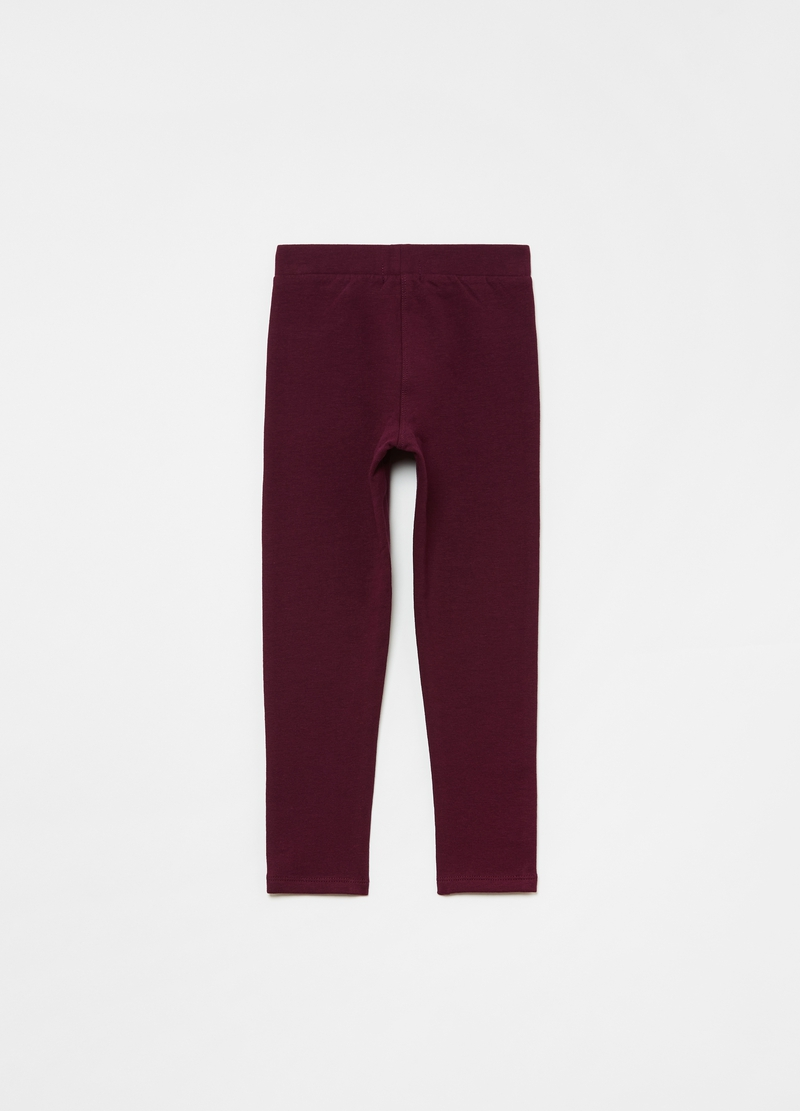 Treggings in cotone stretch image number null