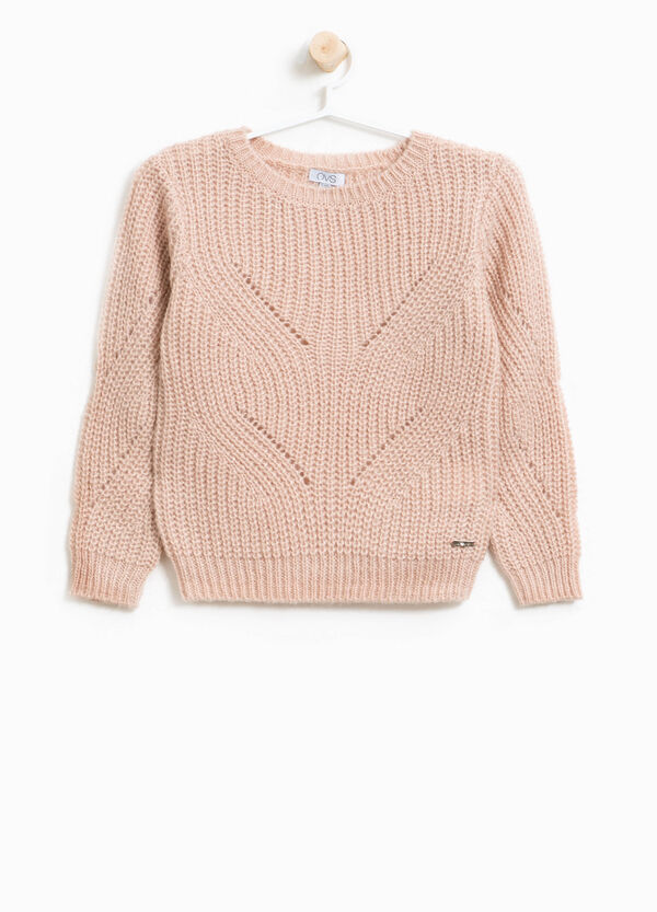 Pullover in lana e mohair tricot | OVS
