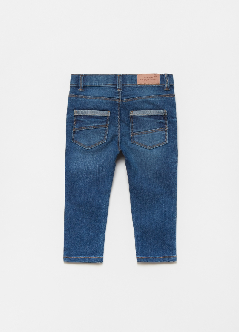 Jeans stretch effetto maltinto image number null