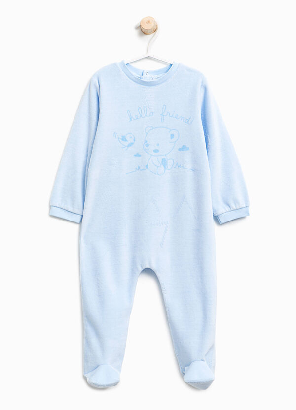 Better Cotton velour sleepsuit | OVS