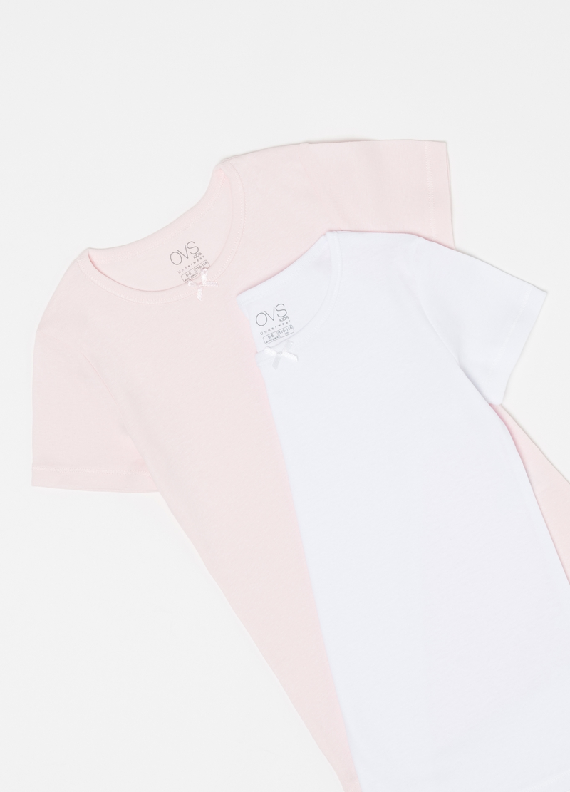 Two-pack 100% organic cotton undershirts image number null
