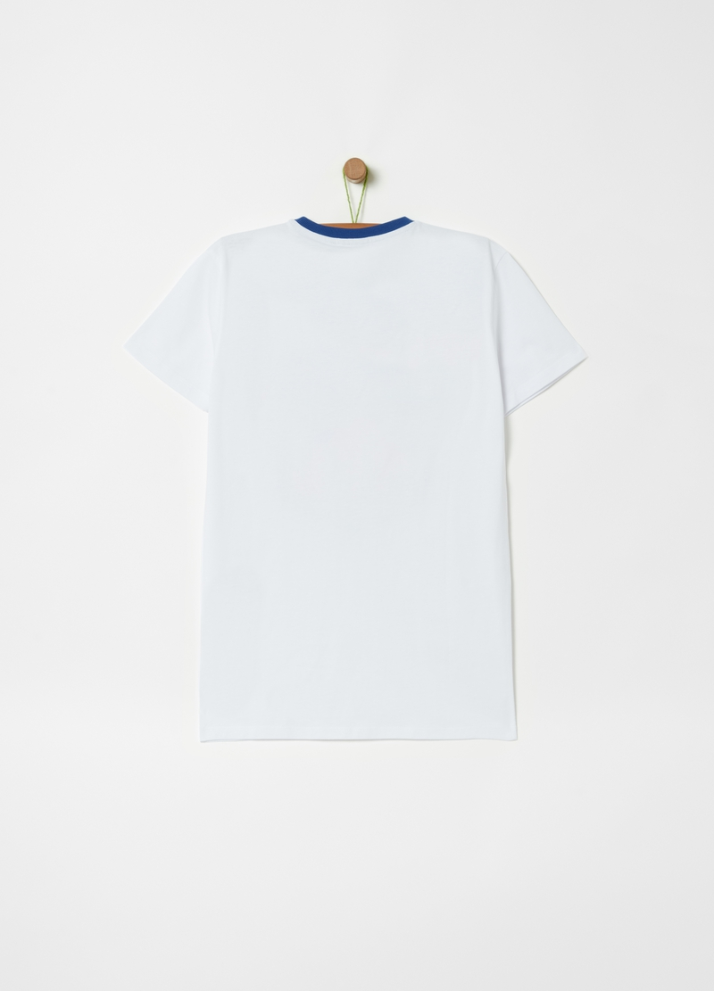 NFL print cotton T-shirt image number null