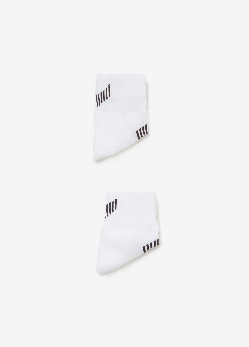 Two-pair pack short socks with insert