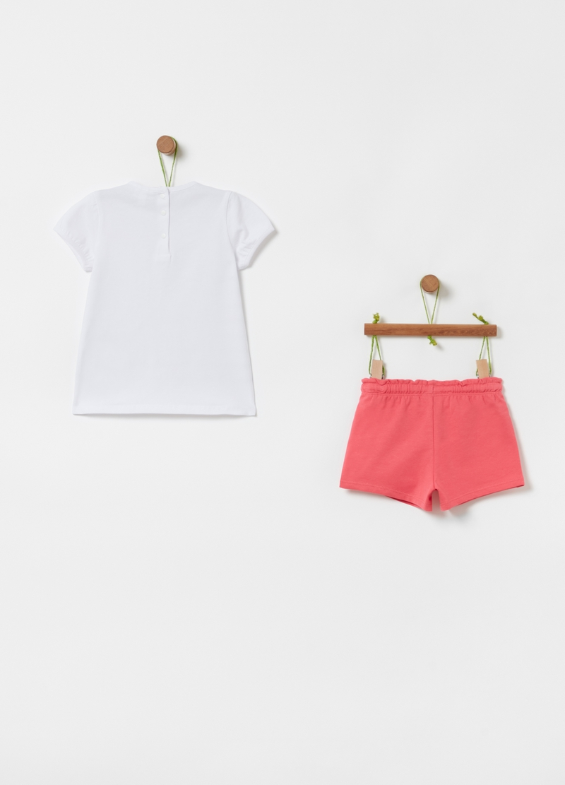 Jogging set t-shirt e shorts Looney Tunes image number null