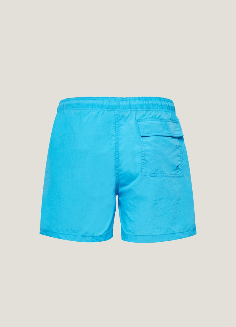 PIOMBO swimming trunks with drawstring image number null