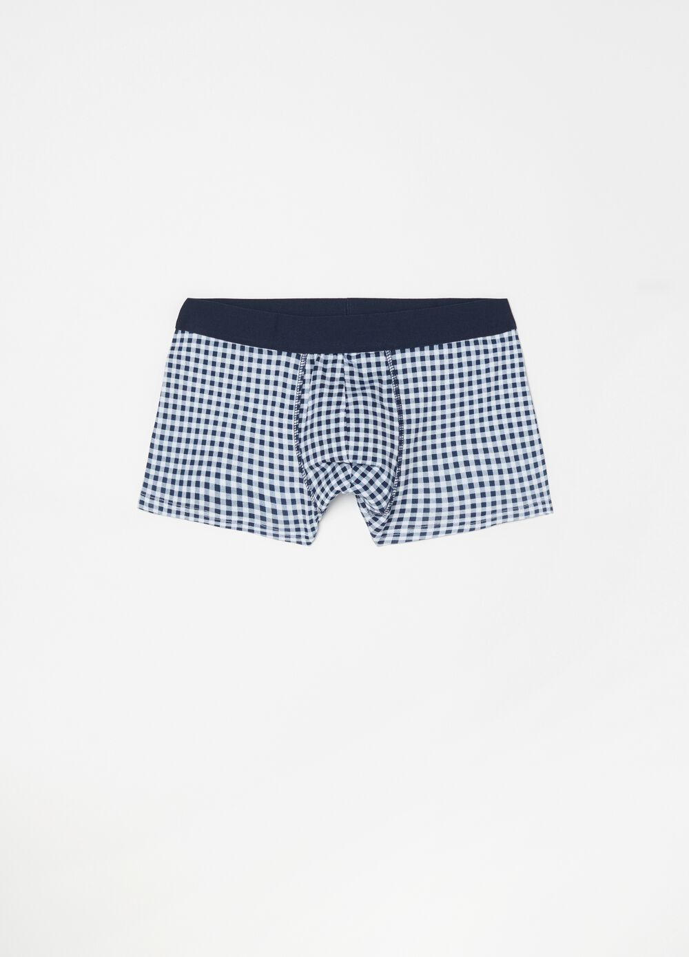 Five-pack patterned boxer shorts in 100% cotton