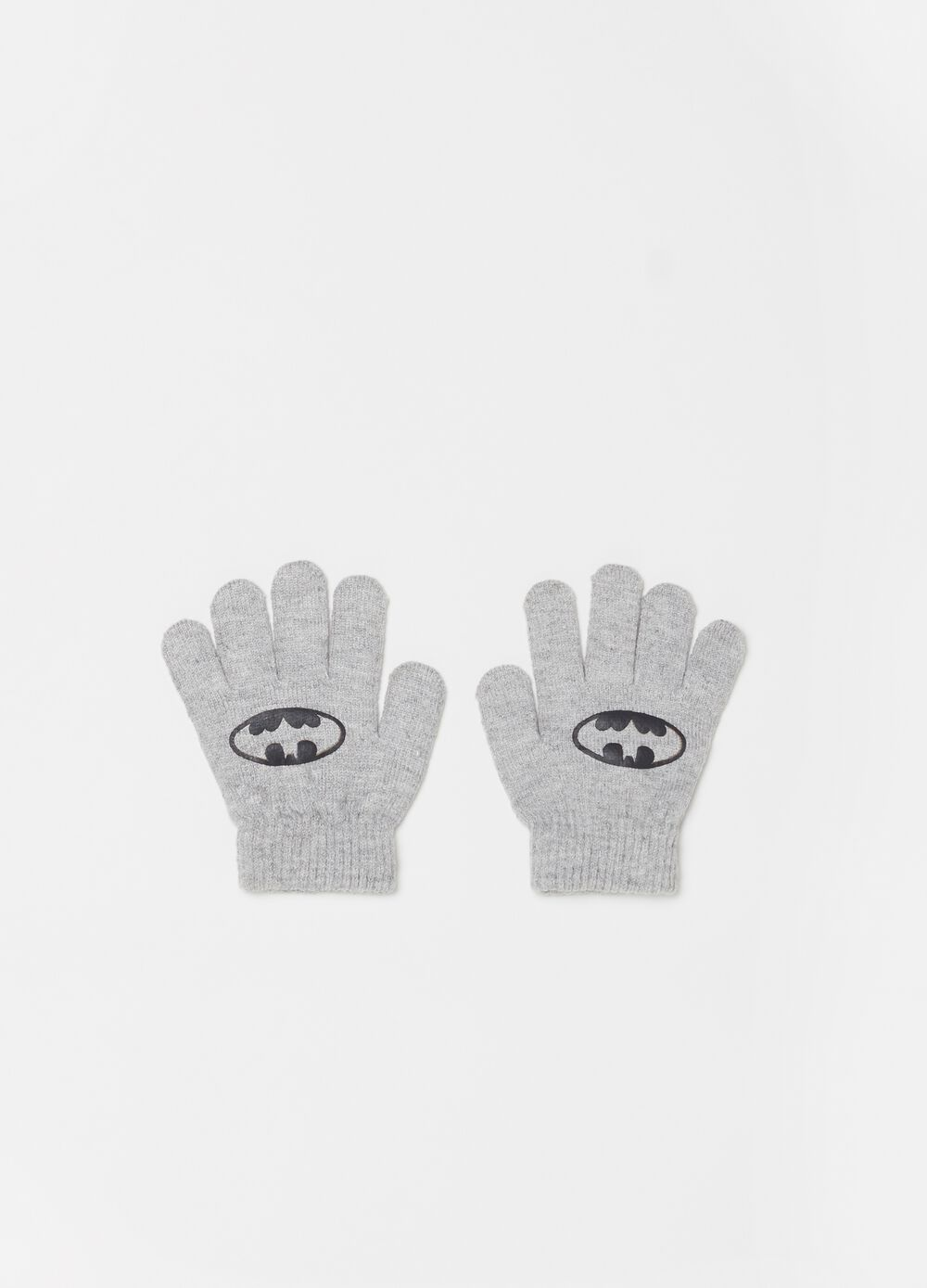Warner Bros Batman knitted gloves [DC COMICS]