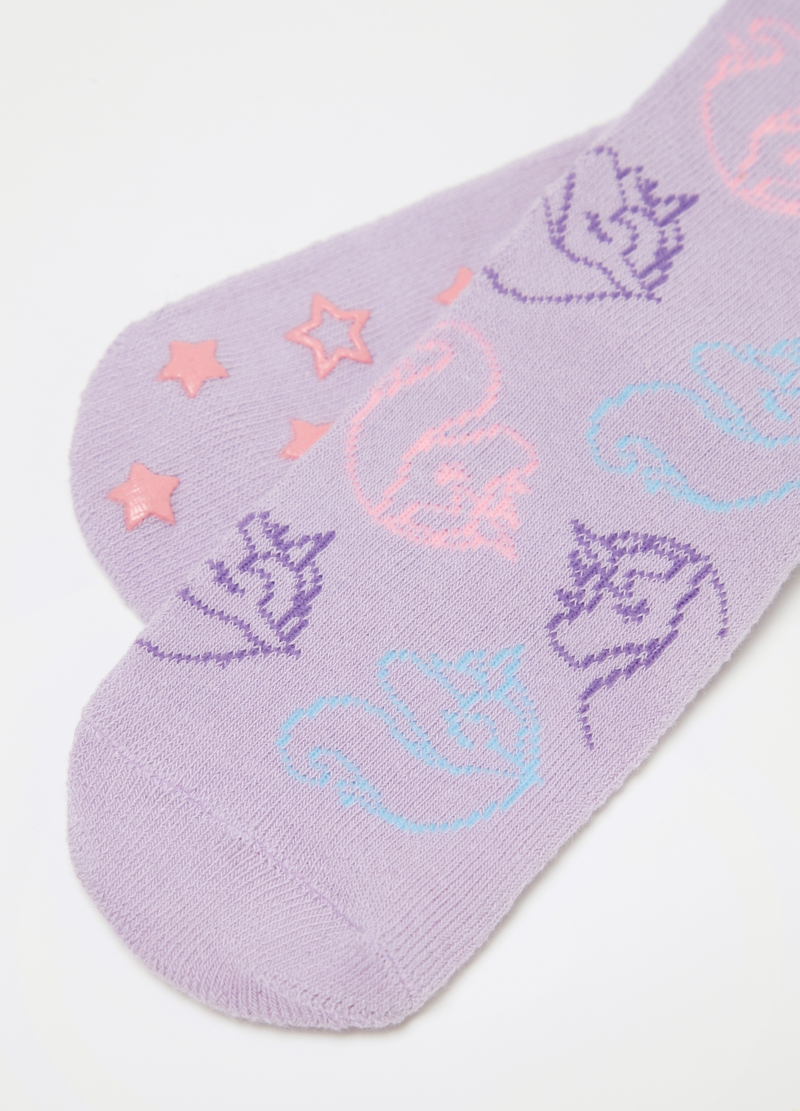Two-pair pack stretch socks with contrasting pattern image number null
