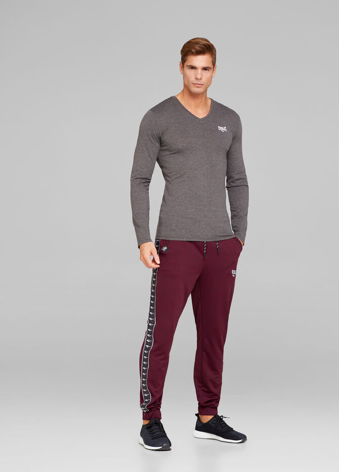 T-shirt sportiva in misto cotone stretch Everlast