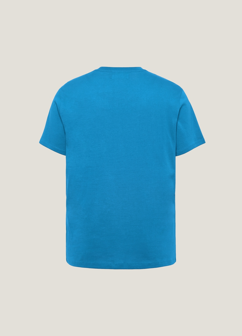 PIOMBO T-shirt in puro cotone stampa image number null