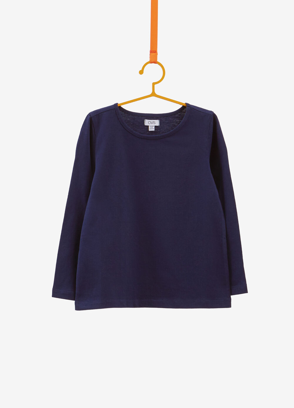 100% cotton T-shirt with crew-neck