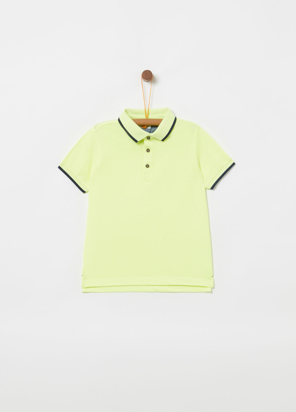 Polo in cotone piquet organico