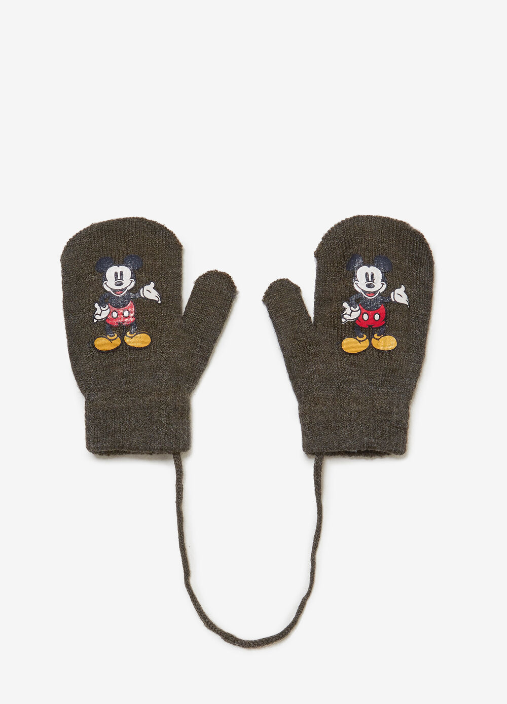 Muffole con stampa Mickey Mouse