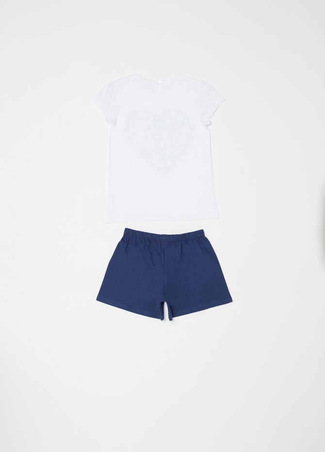 Pigiama t-shirt e shorts Disney