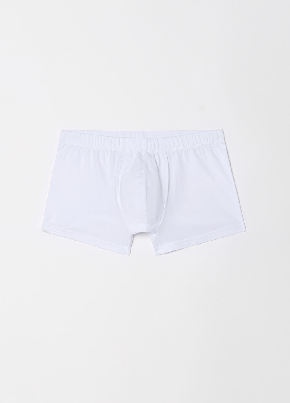 Five-pack boxer shorts with internal elastic
