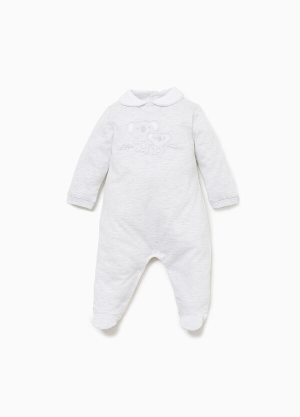 100% cotton onesie with koala patch