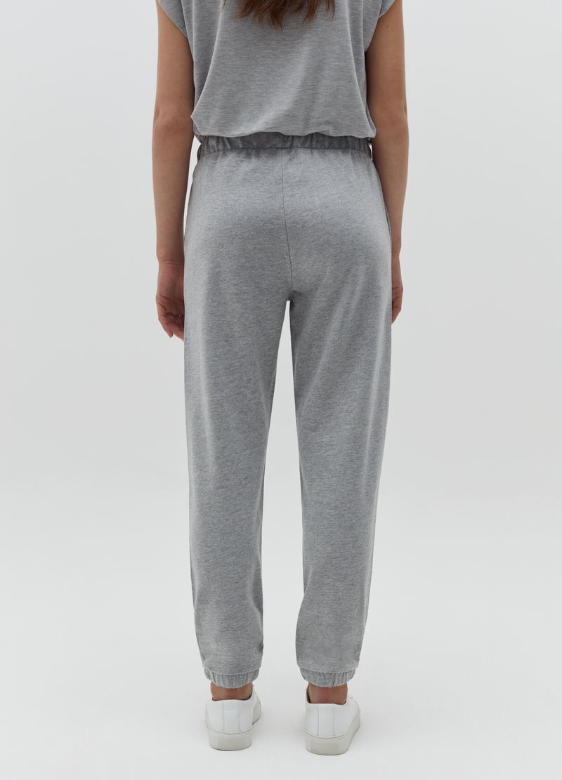 Joggers in French Terry caviglie elasticate image number null