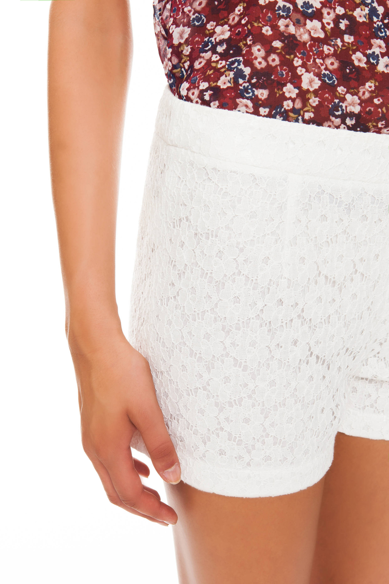 Shorts in pizzo image number null