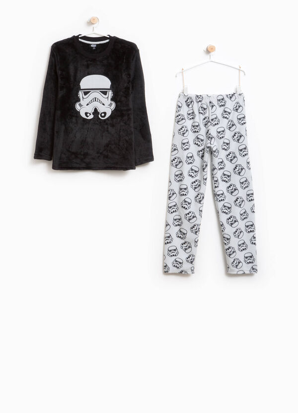 Pyjamas with pattern and Star Wars patch | OVS