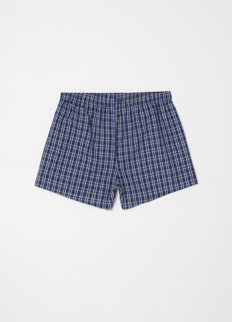 100% cotton boxer shorts with small button image number null