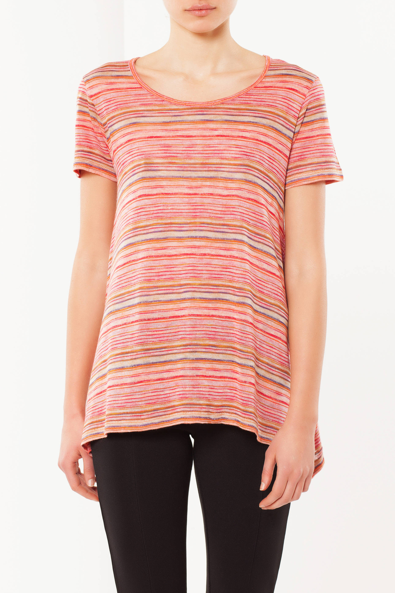 T-shirt a righe image number null
