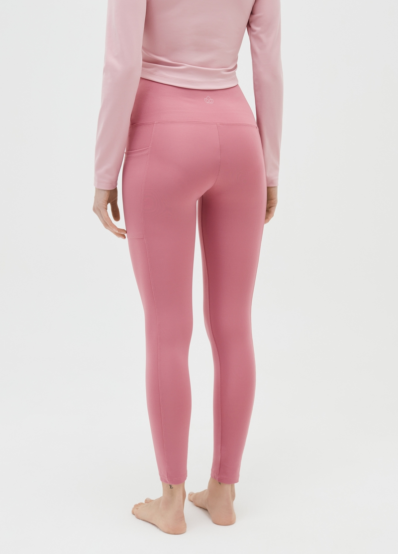 Microfibre leggings with pockets image number null