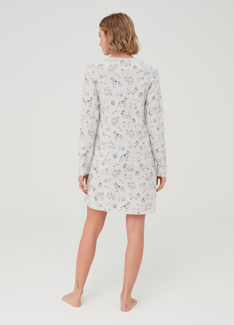 Patterned nightshirt image number null