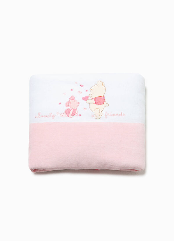 Blanket with Winnie the Pooh patch | OVS