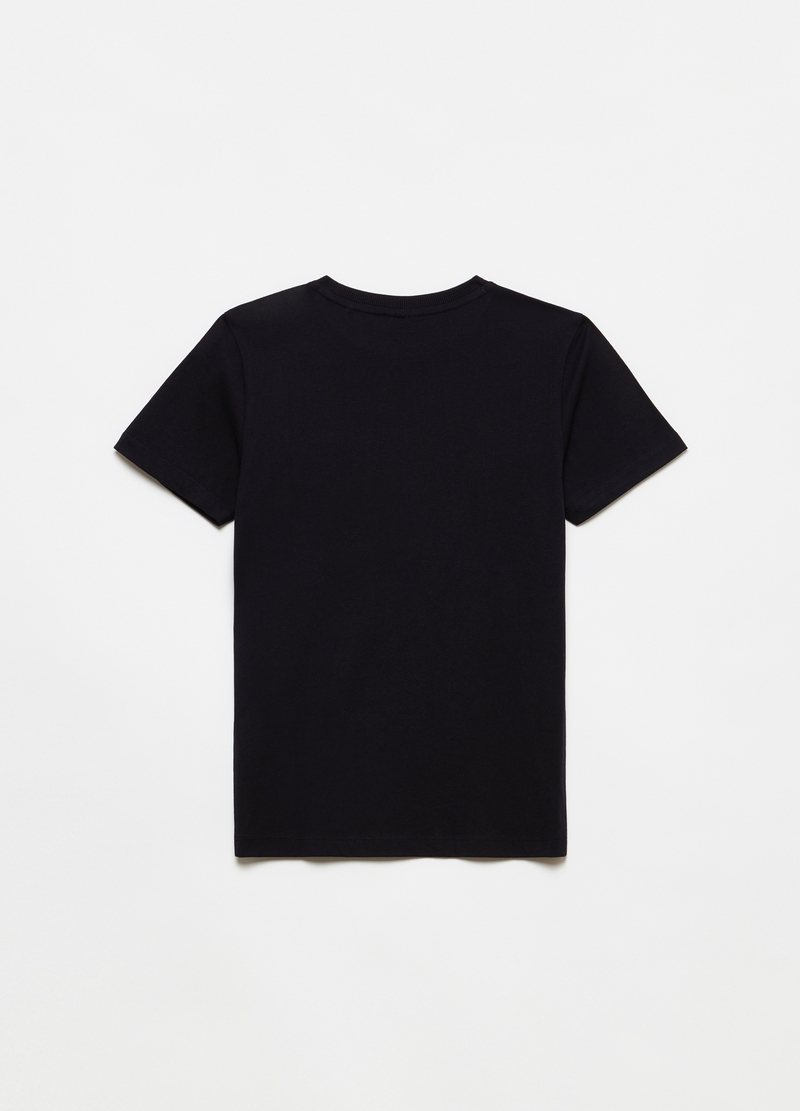 T-shirt with pocket and print image number null