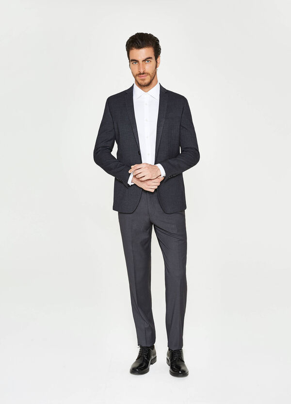 Giacca elegante slim fit viscosa stretch | OVS