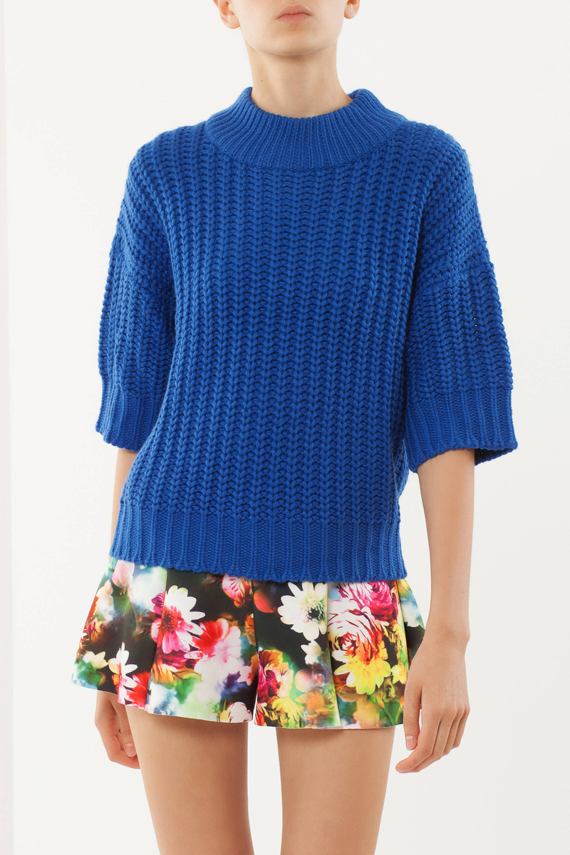 Tricot knit pullover image number null