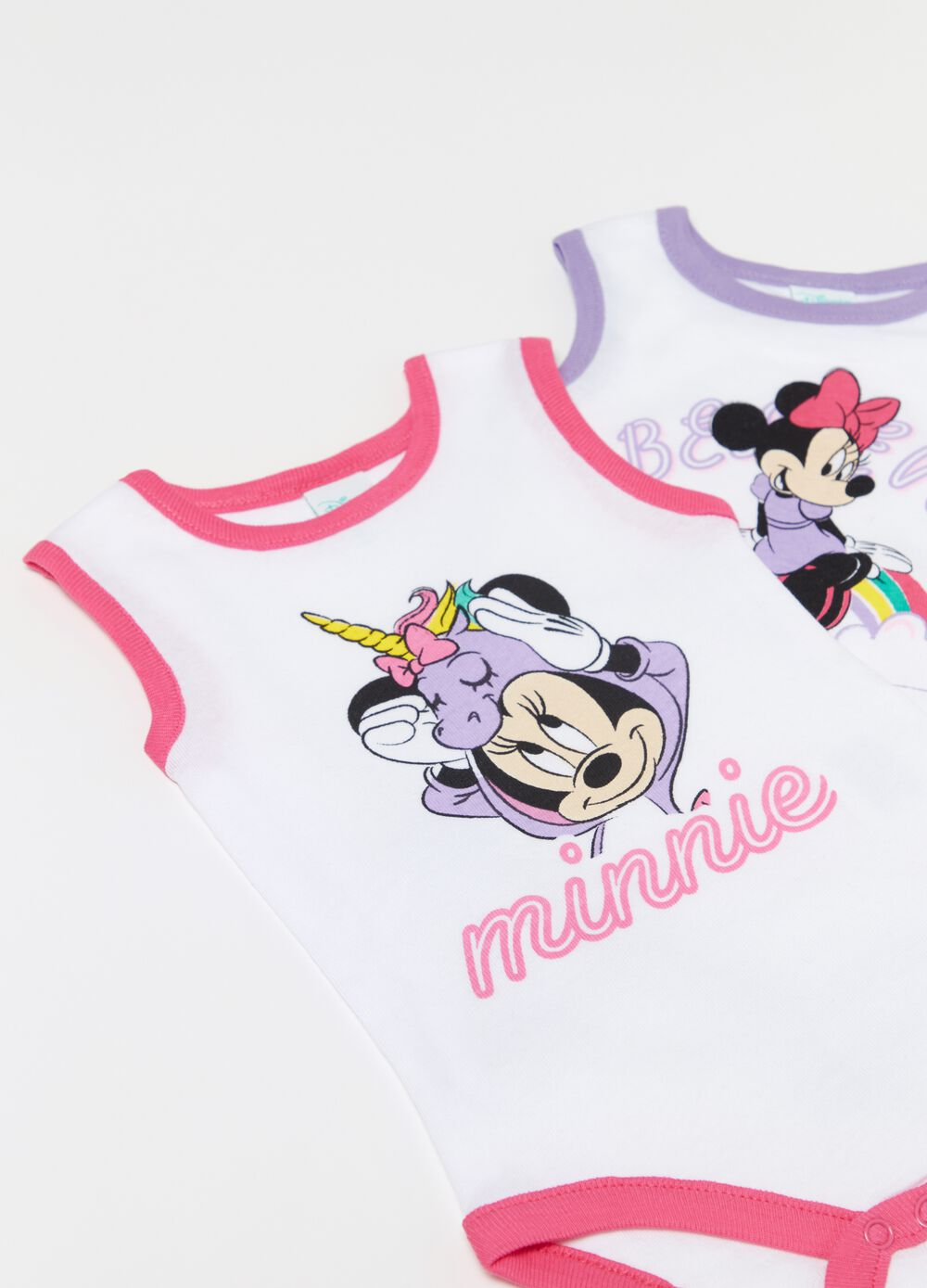 Set due body puro cotone Disney Baby