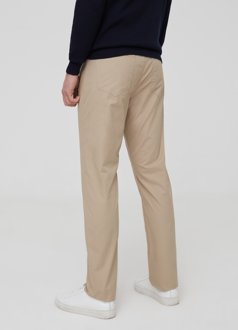 Regular-fit trousers with pattern image number null