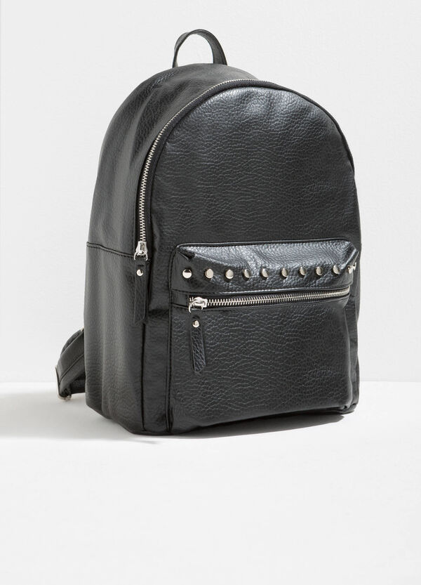 Textured backpack with studs | OVS
