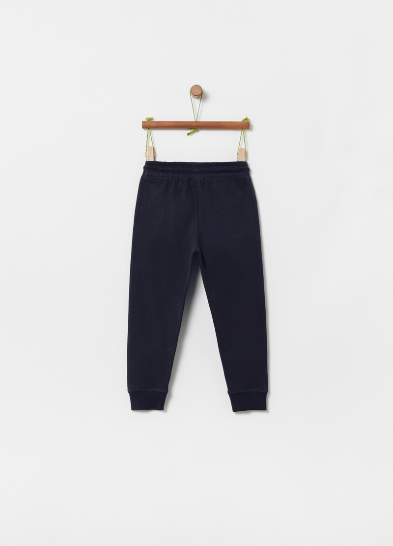 Jogger in French Terry di puro cotone image number null