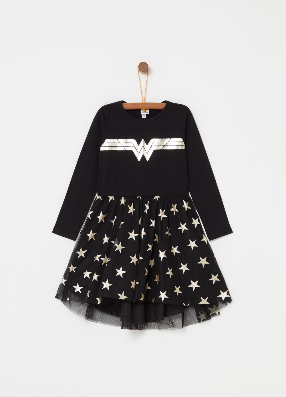 Vestitino con tulle Wonder Woman