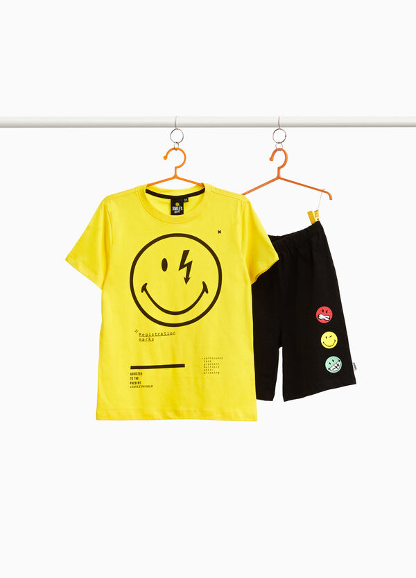 Top and shorts Smile pyjama set