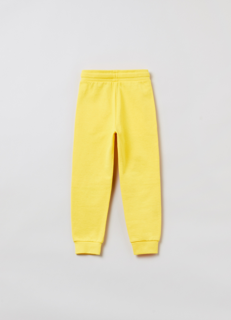 Joggers in felpa con stampa Minions image number null