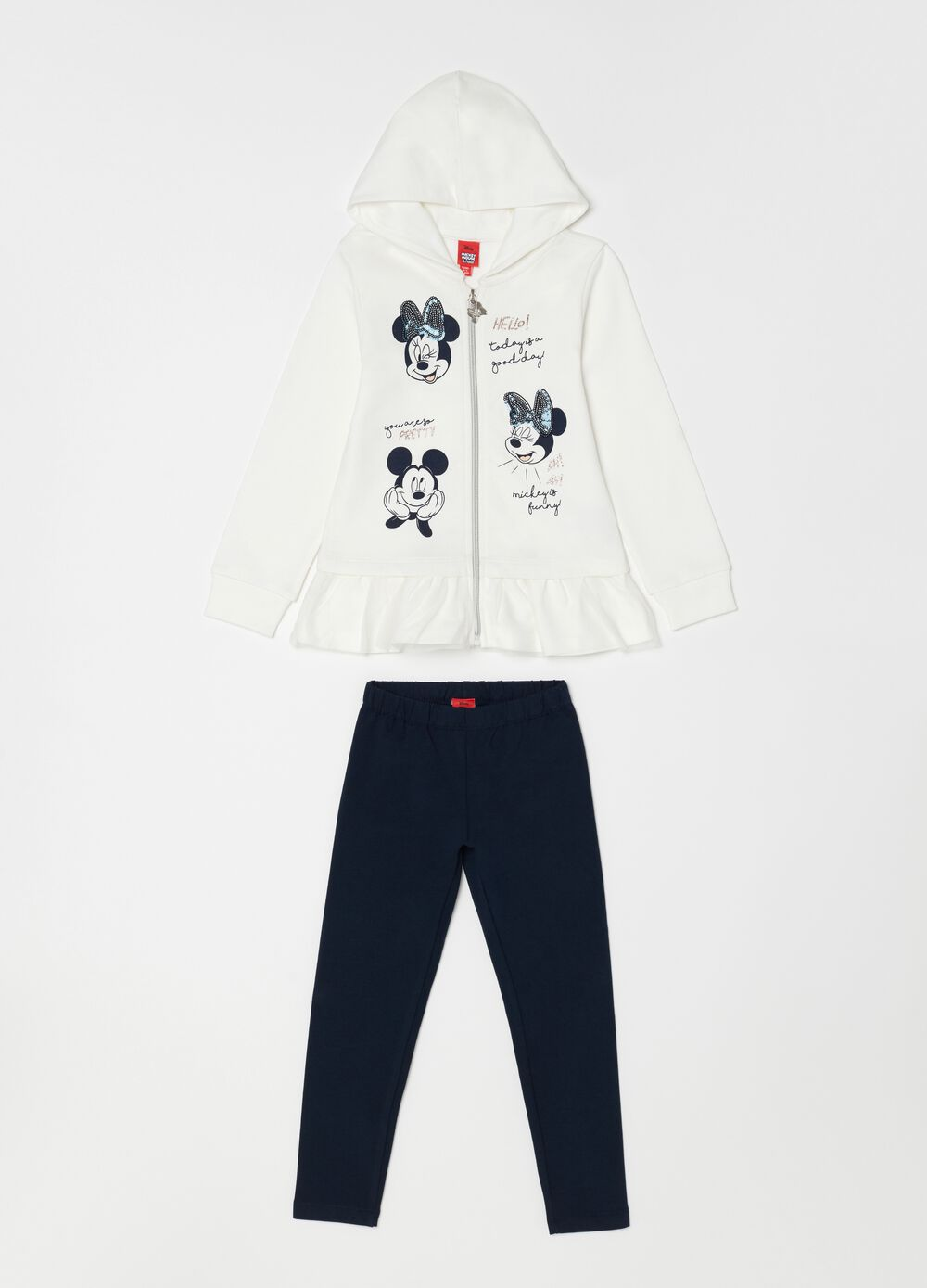 Jogging set Disney Minnie e Topolino