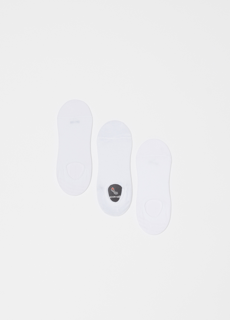 Three-pair pack stretch sneaker liners image number null