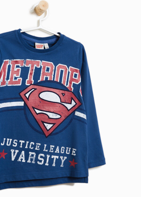 T-shirt cotone stampata Justice League | OVS